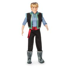 Disney Kristoff Classic Doll Frozen Fever 12 Inch: In his new spring outfit, this classic Kristoff doll will bring favorite Frozen-fevered moments to life. The rugged mountain man's satin sash accents his detailed vest and chunky boots. Disney Princess Dolls, Disney Dolls, Barbie Dolls, Frozen Dolls, Doll Divine, Disney Merchandise, Cute Disney, Disney Disney, Boy Doll