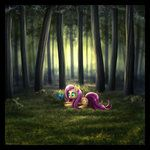 My Little Pony - Fluttershy by *MylaFox  Reminds me of CS Lewis' Wood Between The Worlds.  Just need the pools and a guinea pig.