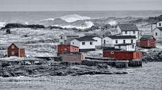 Fogo Island, Notre Dame Bay, Newfoundland