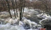 Sanabria en alerta por lluvias y nieve y alarma en el Tera por riesgo de desbordamiento