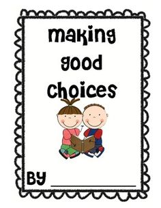 """This is a great book for teaching students about making good choices when a problem arises. I usually do a read aloud with each strategy. The students then illustrate what it might look like to, """"ignore it"""" when something happens at school. School Counselor Office, School Counseling, School Classroom, Classroom Ideas, Teaching Boys, Teaching Manners, School Boy, Back To School, Teacher Tools"""