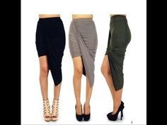 DIY: How To Sew A Trendy Maxi Skirt(SEWING) - YouTube