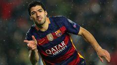 Luis Suarez goal for Barcelona vs. Valencia (2-2)