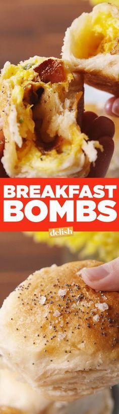 Breakfast Bombs  - Delish.com