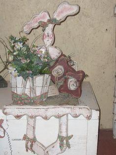 easter decor shelf sitter ~