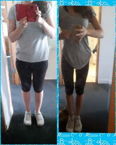 Before and after 6 months #weightloss #hiit #extremecardio