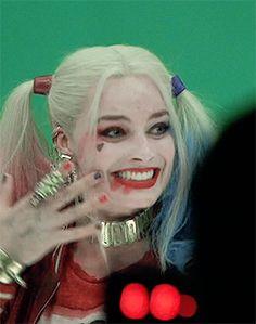 Margot as Harley!