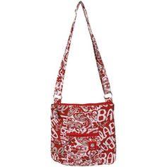 alabama football fabric | Alabama Crimson Tide Ladies Big Logo Fabric Hipster Purse - Crimson ...
