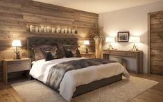 Hotel Arlberg Jagdhaus: landhausstil Schlafzimmer von Go Interiors GmbH