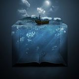 Anchor and Bible Stock Images