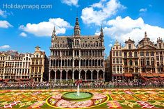 nice Holiday destinations in brussels belgium