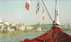 Ship on the Douro river, Porto