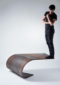 Paul Cocksedge the steel table