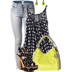 A fashion look from March 2013 featuring Savannah jeans, Naughty Monkey sandals and Vince Camuto handbags. Browse and shop related looks.