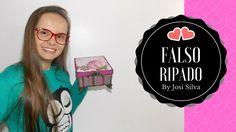 DIY-Falso Ripado fácil, decoupagem, carimbos Innova Carimbos - By Josi S...