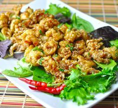 The Unorthodox Epicure — (Recipe): Fried Calamari bathed in Thai Sweet & Hot Dipping Sauce