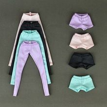 High Quality Elastic Leather Bottoms Pants Trousers For Barbie Doll Clothes Fashion Outfit For 1/6 BJD Dolls Accessories(China (Mainland))
