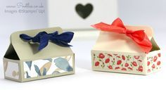Stampin' Up! Demonstrator Pootles - Mini Chocolate Bar Box Tutorial with video