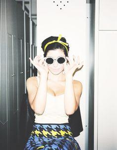 Marina and the Diamonds; Jupe a Motif Pieds de Poule trop chouette!
