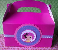 Lalaloopsy party favor box filled with goodies also by bellecaps, $9.00