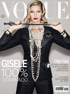20 anos de Gisele Bündchen na Vogue de dezembro