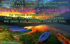 Our deepest heart goes out to all affected by the disaster in Nepal. Please join us in sending compassion and care <3 You can also click the image for a brief video from HeartMath's Deborah Rozman, on care for Nepal.