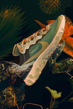Nike React Element 87 x Undercover Sneakers Fashion, Fashion Shoes, Basket Style, Shoe Poster, Hypebeast, Nike Shoes, Shoes Sneakers, Sneaker Store, Baskets Nike