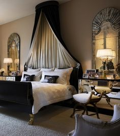 glamorous bedrooms | Bedroom Interior Design by Jeffrey Hitchcock 264x300 Glamorous Bedroom ...