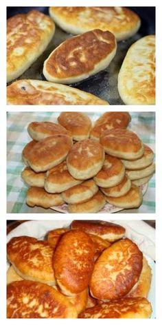 Быстрые пирожки на кефире. Готовятся моментально! Pasta, Pretzel Bites, Good To Know, Pancakes, Food And Drink, Cooking Recipes, Bread, Breakfast, Kitchen