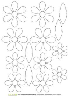 Small paper flower templates amp tutorials full library set of 35 templates catching colorlfies – ArtofitTemplates for creation of flowers from a foamiran: big collection me 27804 r-eYW_dsyrk. Paper flowers available for puCUSTOM Single Felt Flower Paper Flowers Diy, Handmade Flowers, Felt Flowers, Flower Crafts, Diy Paper, Fabric Flowers, Paper Crafting, Paper Art, Applique Patterns