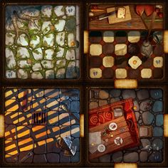 Thoughts on improving the game tiles | Machina Arcana | BoardGameGeek