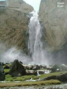 So fantastic photography of beautiful Manthoka waterfall Skardu Valley Hunza…
