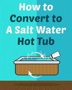 Almost any hot tub can be converted to salt water these days. Let's learn how to convert to a salt water hot tub so you can get rid of those corrosive chemicals and use a more natural approach to creating chlorine to sanitize your hot tub water.