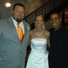 Mr. & Mrs. Hoag #clazel @leahmcdonald1