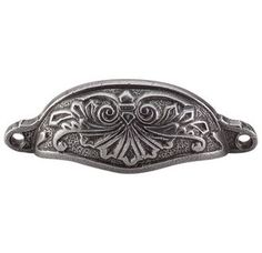View the Top Knobs M61 Chateau II Collection 3-15/16 Inch Center to Center Pewter Abbot Cabinet Cup Pull at Build.com.