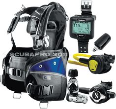 ScubaPro Glide Pro BCD Scuba Gear Package, #25