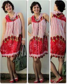 blog vitrine @ugust@ LOOKS | por leila diniz: look vermelho alegre c/sapatinho novo + msg DEUS: tenhamos a humildade de aprender sempre
