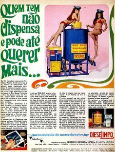 Diesel Milpo, #Brasil  #anos60  #retro