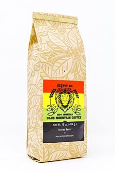 (Medium Roast)(Whole Bean) Jamaican Coffee, Blue Mountain Coffee, Pinterest Advertising, Roast, Beans, Amazon, Medium, Riding Habit, Roasts