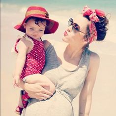 Favourite blogger and her daughter, E on instagram! Too cute. @Naomi Davis