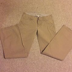 Abercrombie khakis Abercrombie khakis - bottoms are frayed (see photo) Abercrombie & Fitch Pants