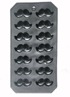 Mustache Silicone Molds for Soap, ice, Chocolate, Jello on Etsy, $4.95