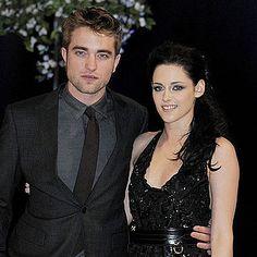 Robert Pattinson and Kristen Stewart Stick Together on Breaking Dawn Red Carpet