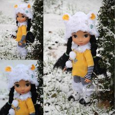 5 pcs. In set. Doll clothes for Disney animator by FairyTaleLOVEit