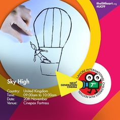 Dont Miss!  Sky high  A whiteboard animation which follows the upwards adventure of a young boy.  For reservation and complete program visit www.thelittleart.org http://ift.tt/1q8qXk6  #Children #Film #Youth #FilmFestival #Festival #LICFF #Education #MediaLitercy #7thLICFF #LICFF15 #Lahore #Pakistan #TLA #TLAORG #Uk #skyhigh #stewartpowers