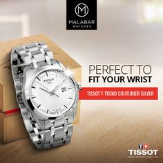 Find the best watch for you from our exotic collection of #Tissot watches for #women & #men.