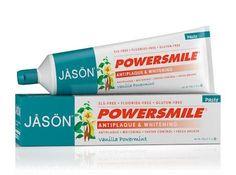 Jason Powersmile® Whitening Toothpaste Vanilla Mint Fluoride-Free Paste 6oz