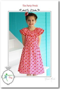 Another pattern for the girls. Amoretti-designs  also has ready made skirts and dresses, as well as beautiful fabrics. <3