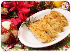 Baccala in crosta di patate