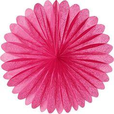 tissue paper fan (PINK)